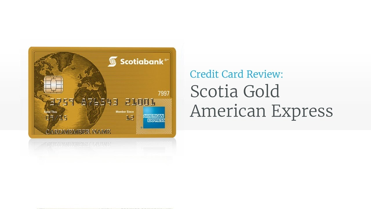 The scotiabank gold american express card review youtube the scotiabank gold american express card review colourmoves