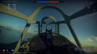 War Thunder - Aerial Dog Fight Gameplay (PC)