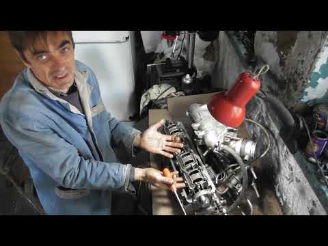Пример Зажатого Клапана в Двигателе ВАЗ 2109 1 Часть