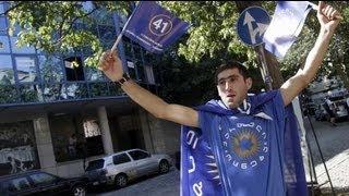 Tiflis'te seçim sonrası sokaklar sakin