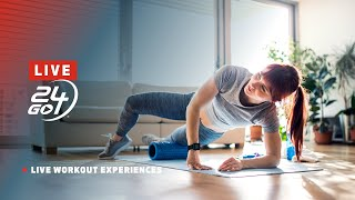 24GO Live - a Live Workout Experience from 24 Hour Fitness