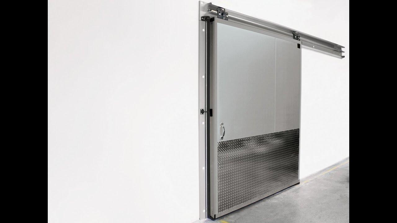chase coldguard single slide door video