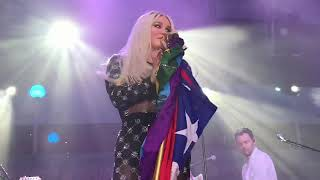 Kesha performing Right Round for the first time ever & Good Old Days live during Kesha Cruise 2019