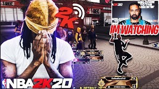 Ronnie 2K visits my Live Stream and Gives Me a Unexpected Surprise in NBA 2K20