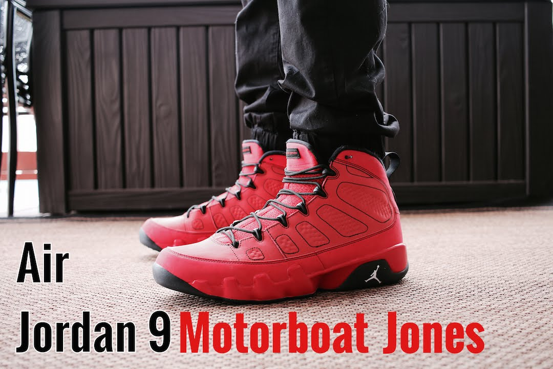 2d1e24c303e1f6 Air Jordan 9 Motorboat Jones W  On-Feet Review  SFTLOS - YouTube