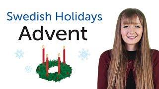 Learn Swedish Holidays - Advent