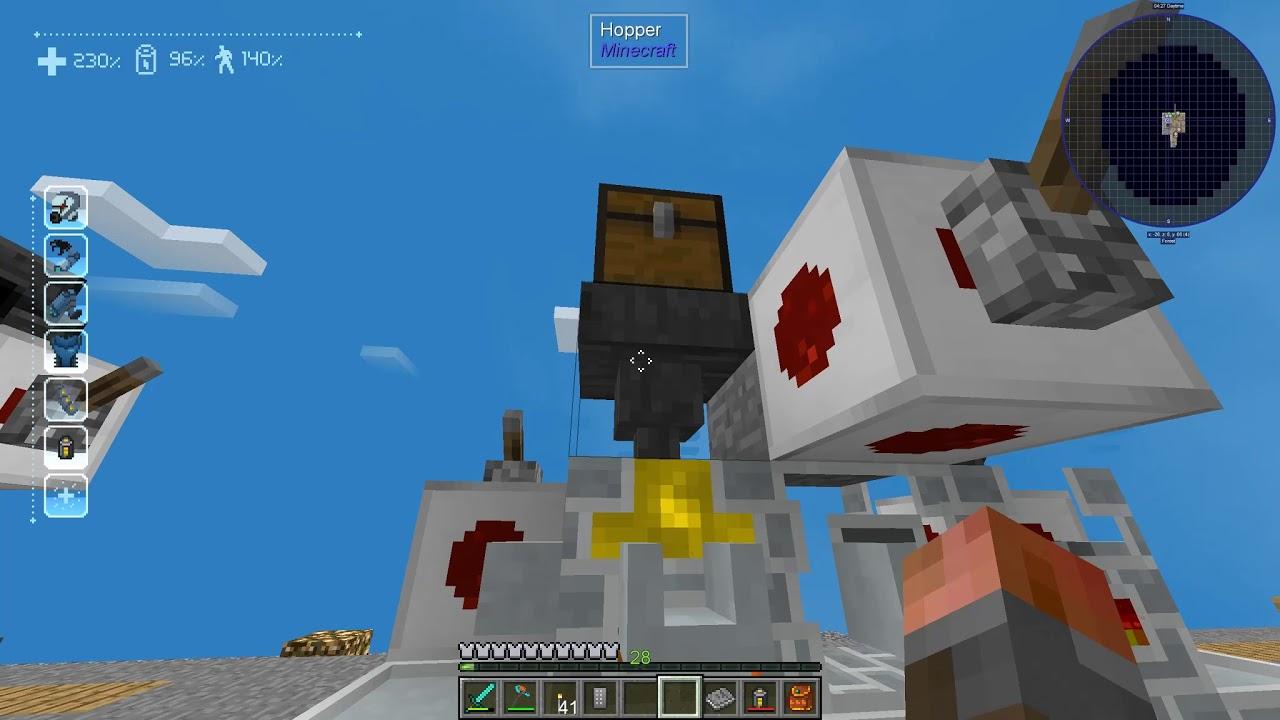 SkyFactory 4 E12 - Tinker's Armour and Upgrades!