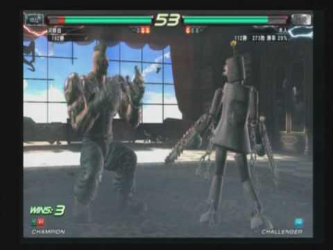 Tekken 6:BR match vids1