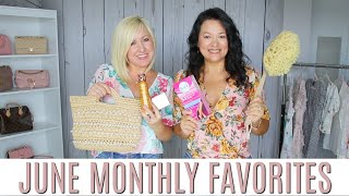 JUNE MONTHLY FAVORITES | FASHION & BEAUTY MUST HAVES