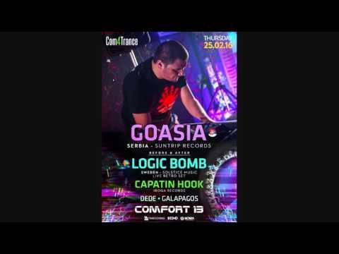Goasia - Live - Com4Trance [Tel Aviv 2016]
