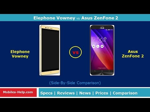 elephone vowney vs asus zenfone 2 the