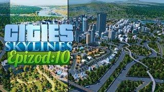 Cities: Skylines - Micro City :: Ep. 10 :: Handlowo i biurowo, rozbudowujemy!