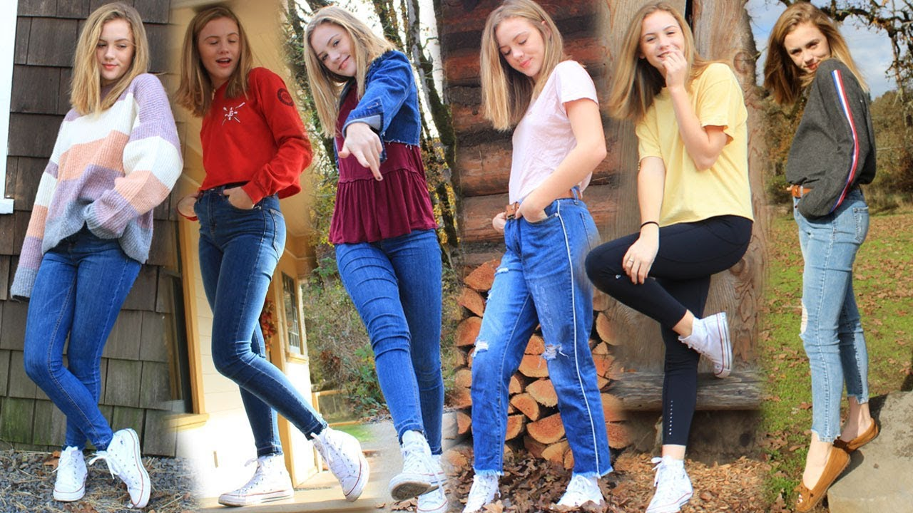 [VIDEO] - FALL Outfit Inspiration, Everyday Outfit Ideas LOOKBOOK 2017 | TILLY BEE 4