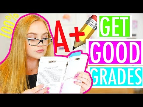 Study/Schools Hacks + Tips | How To Get Good Grades For Back To School