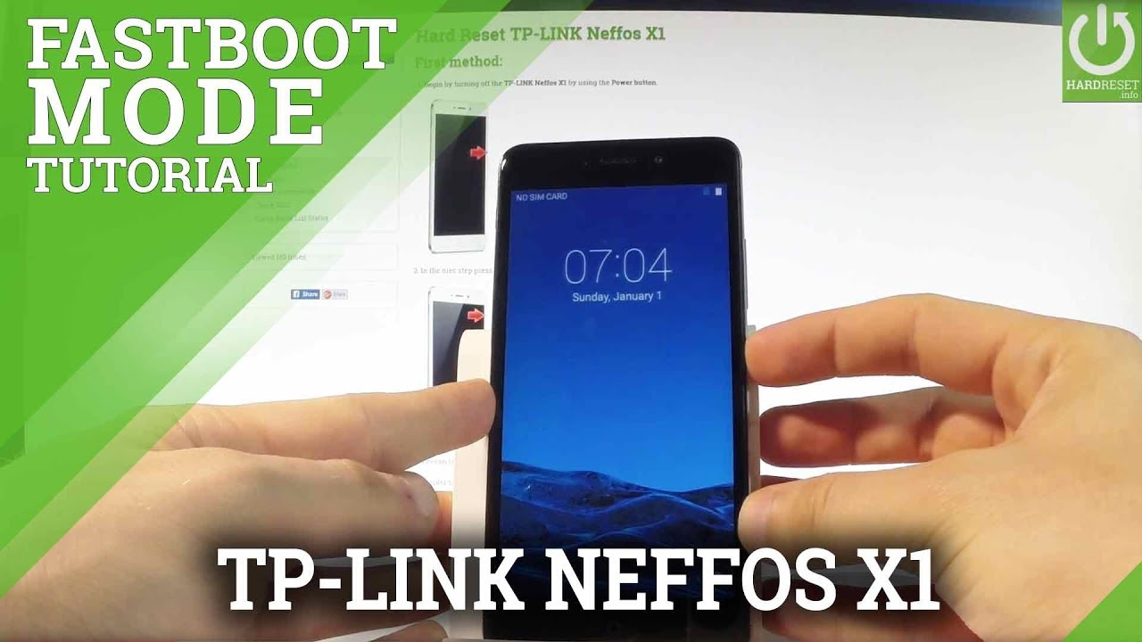 TP-LINK Neffos X1 Fastboot Mode / Enter & Quit Fastboot