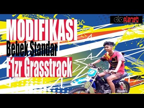 Bebek Standar F1zr Grasstrack Team Ma'rifat MRT Abadi Jaya