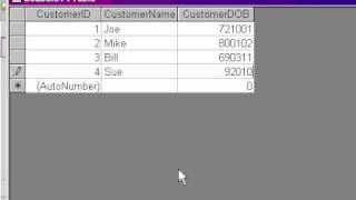 Microsoft Access Convert Numbers to Dates - Advanced