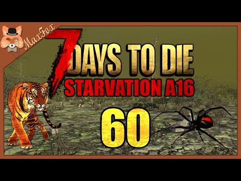 Let's Play 7 Days to Die (A16) Modded with Starvation! - Episode 60 (Horde Night!)