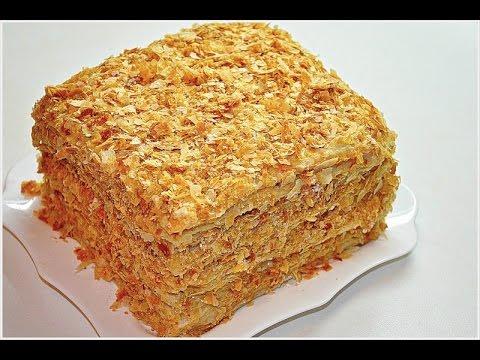 Торт Наполеон по-домашнему. Самый простой  рецепт | Просто вкусно
