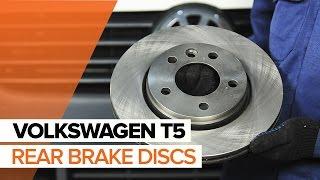 Remove Brake pad set VW - video tutorial