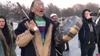 New Video Shows Native American Drummer Nathan Phillips Approaching MAGA Hat Students First...