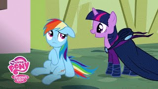 MLP: Friendship is Magic – Rainbow Dash Learns 'A Real Hero Doesn't Brag' Poniaffirmations #10