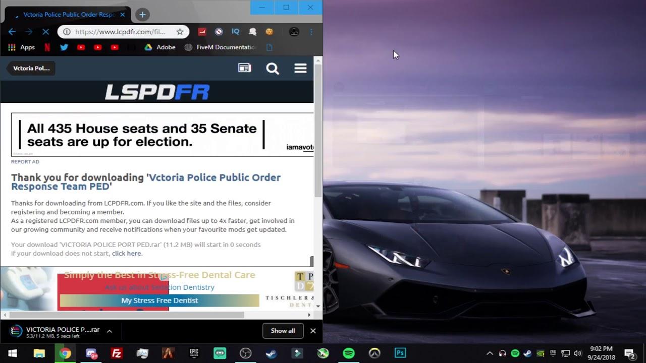 How to Install Ped Models FiveM | September 2018