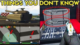 10 MORE THINGS YOU MAY NOT KNOW ABOUT THE DOOMSDAY DLC & GTA ONLINE