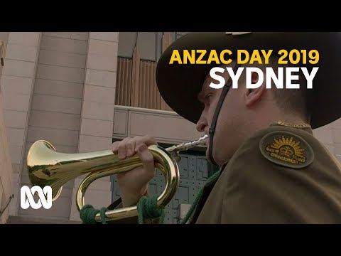 Anzac Day 2019 - Sydney March And Service