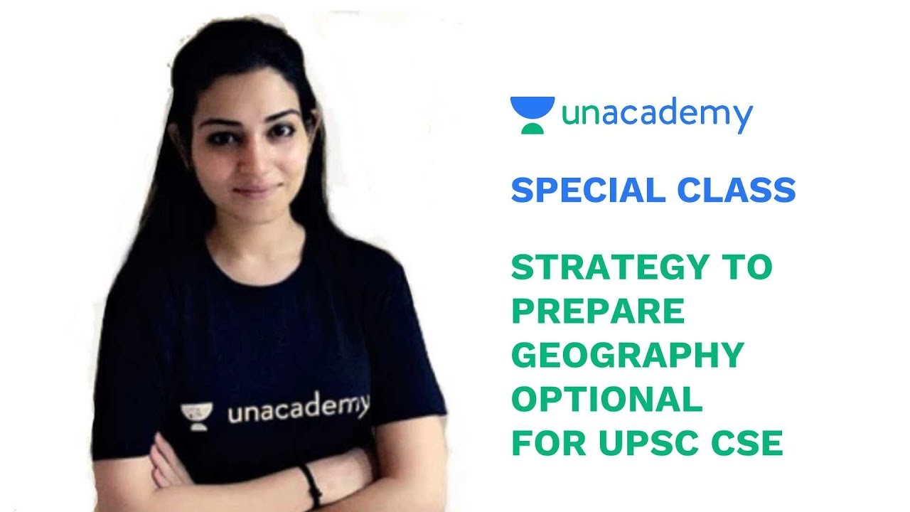 Special Class - Strategy to Prepare Geography Optional for UPSC CSE -  Arpita Sharma