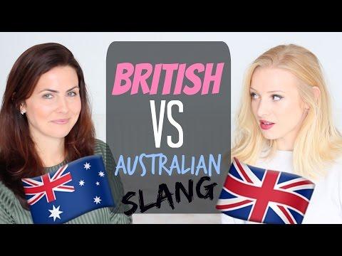 British Slang  vs Australian Slang | Colloquial English Words and Phrases