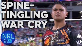Incredible war cry and haka stirs huge rugby league crowd | NRL on Nine