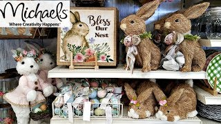 Shop With ME! Michaels EASTER SPRING DECORATIONS 2018