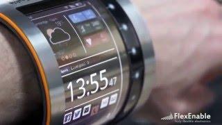 InfoGeek 5 Celular pulsera flexible