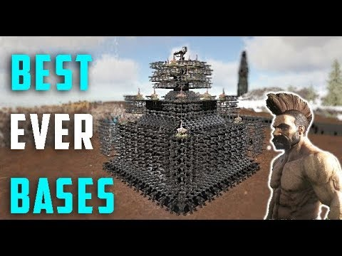 Ark - The Most Well Defended Bases [Showcase]