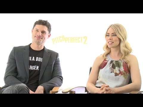 PITCH PERFECT 2: Meet Das Sound Machine's Flula Borg & Birgitte Hjort Sorensen