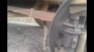 bongkar rem depan fuso