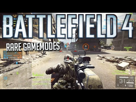 Playing rare gamemodes in Battlefield 4!  