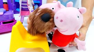 Видео с игрушками! СВИНКА ПЕППА новая серия! Peppa Pig и семья Свинов у Доктора! СТРАШНАЯ ПРИВИВКА !