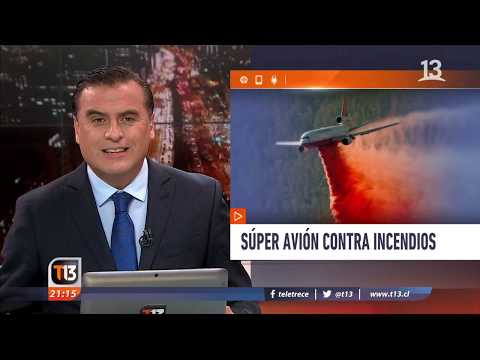 «ten tanker»: súper avión contra incendios