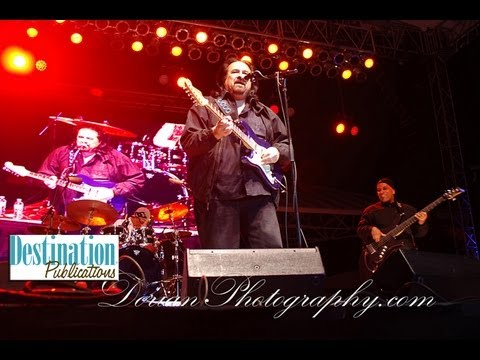 Coco Montoya interview and LIVE at 2013 Clearwater Sea-Blues Fest long