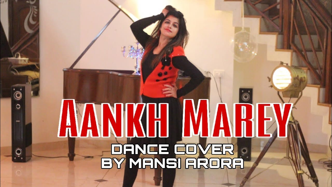Aankh Marey - Simmba | New Year Blast |Bollywood style | Dance Cover By Mansi Arora