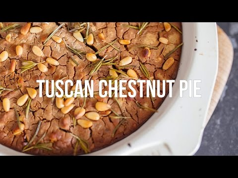Chestnut Pie | Vegan, Gluten & Sugar Free