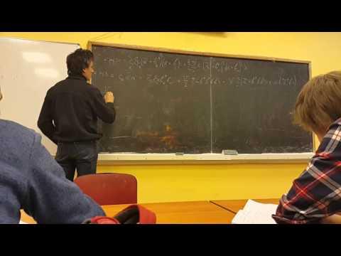 Лекция 4 часть 2 Bose-Einstein condensation. Spontaneous symmetry break