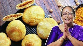 మసాలా కచోరి ఓసారి ఇలా కచోరి చేయండి మళ్ళి మళ్ళి చేసుకొని మరి తింటారు | Masala Kachori Recipe