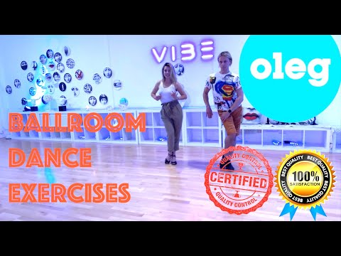 💥Ballroom Dance Exercises - With OLEG💥Develop A Real Dancing Skills By Doing This Simple Exercise