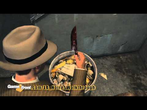 LA Noire - Achievement Walkthrough - Stab Rite