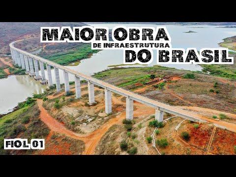 Maior obra de infraestrutura do Brasil - FIOL I (PARTE II)