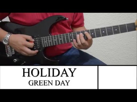 Cover Holiday Green Day with chords