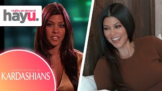 Kourtney Kardashian's First and Last Moment on KUWTK | Keeping Up With The Kardashians